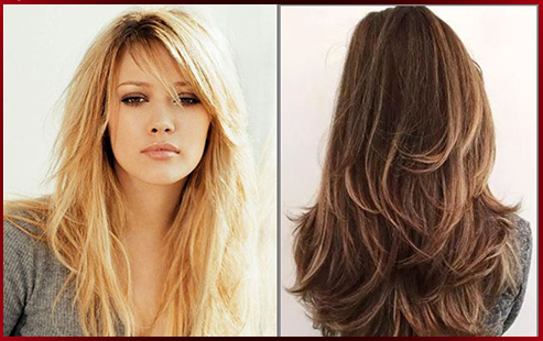 Layered Hairstyles For Thin Hair With Bangs 35