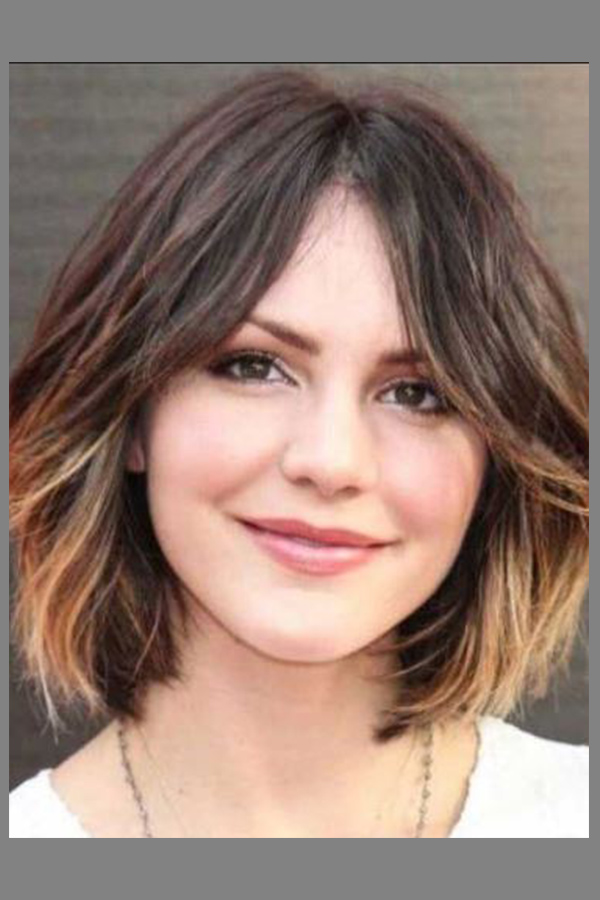 Short Hairstyles For Round Faces Fabulessinheels