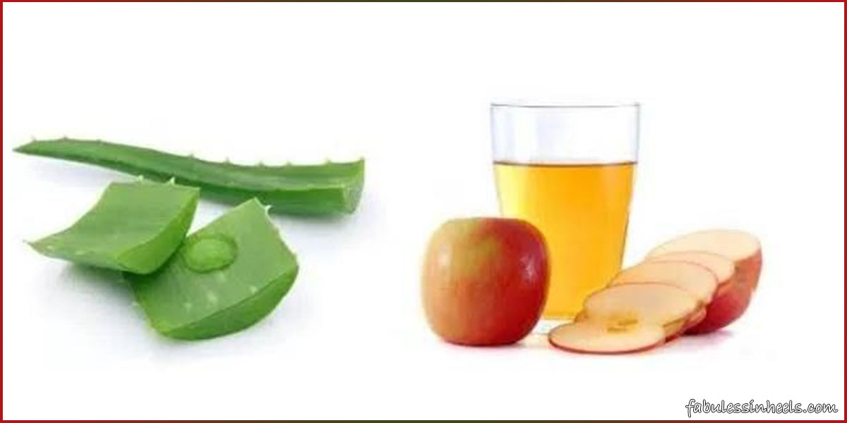 apple cider vinegar on face overnight