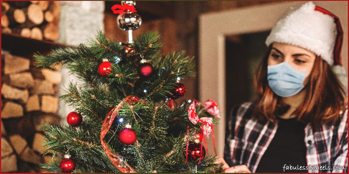 Christmas celebration in lock-down